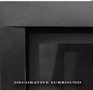 Decorative Black Surround w/screen