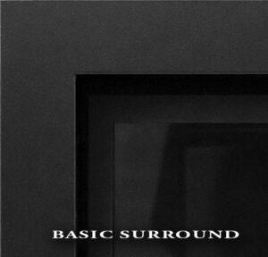 Basic Black Surround w/screen