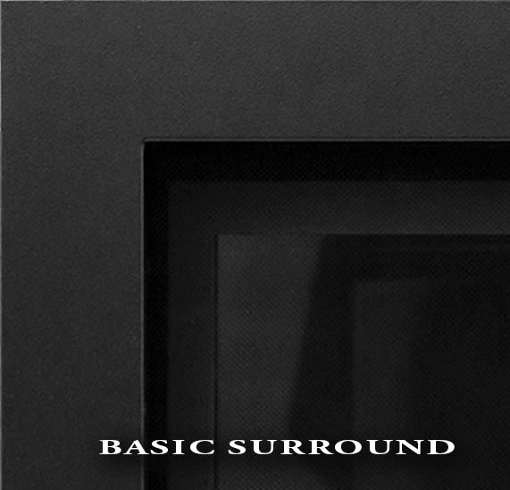 Savannah's basic black surround with safety screen attached