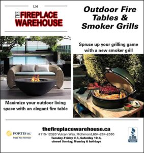 fire tables & smoker grills